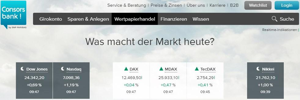 Über den deutschen Broker handeln die Trader mit Aktien und weiteren Assets.